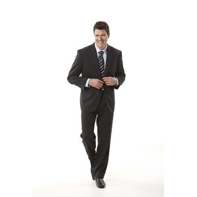 Executive Mens Blazer Min 25 - Men's Frame Designed Blazer, Mid Length, Complete Tailoring Detail, Easy Wash Fabric. http://www.promosxchange.com.au/executive-mens-blazer/p-4395.html