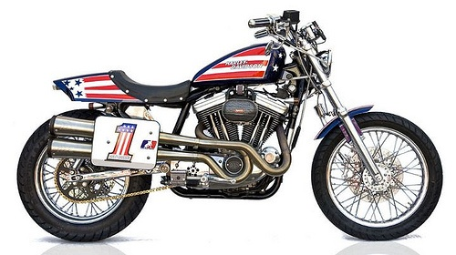 Evel Knievel S Harley Davidson Xl1000 Up For Auction: Harley Street Tracker