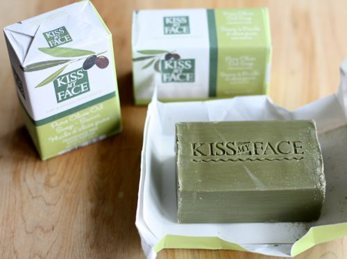 Kiss My Face Pure Olive Oil Soap: body wash, face wash, shaving cream. Under $4 at my Kroger.