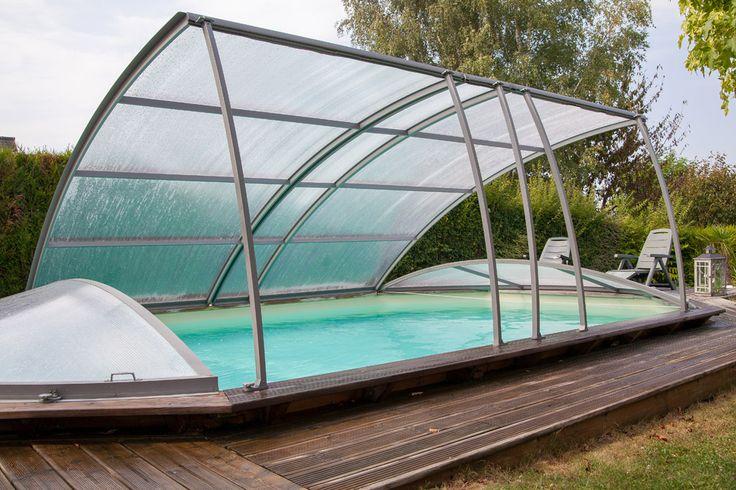 25 beste idee n over abri piscine hors sol op pinterest amenagement piscine hors sol - Deco terras zwembad ...
