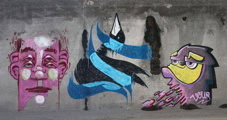 East Side Street Art Białystok, Poland 2013