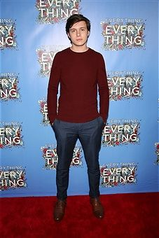 Actor Nick Robinson attends the 'Everything, Everything' New York Screening at The Metrograph on April 30, 2017 in New York City.