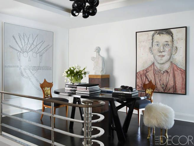 HOUSE TOUR: A Pair Of Fashion Mavensu0027 Wildly Creative NYC Duplex