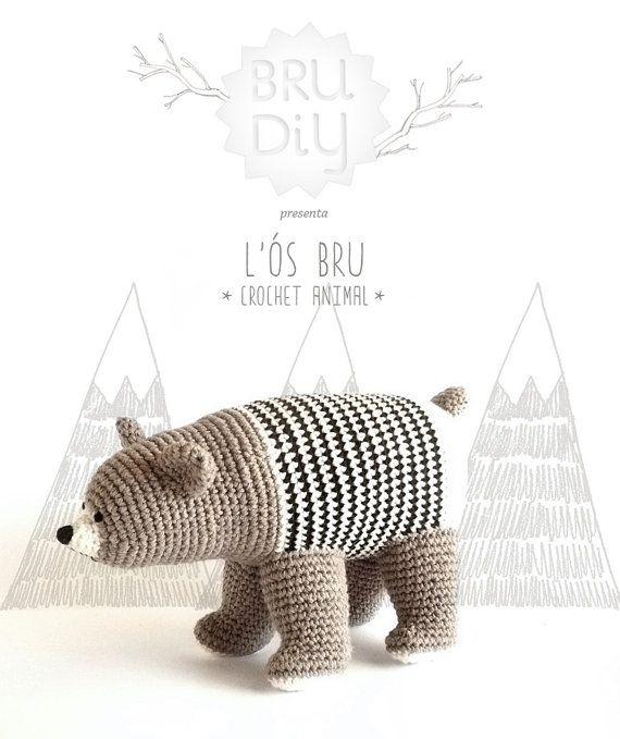 DIY Pack / Pattern of eco-cotton crochet animal