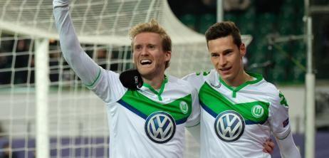 Sieg gegen Gent: Wolfsburg steht im Viertelfinale der Champions League - SPIEGEL ONLINE - Nachrichten - Sport