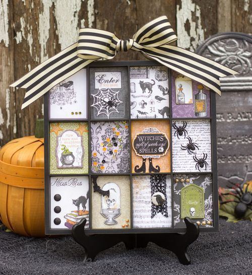 Halloween printer 39 s tray by corri garza for echoparkpaper for Cricket printing machine craft supplies