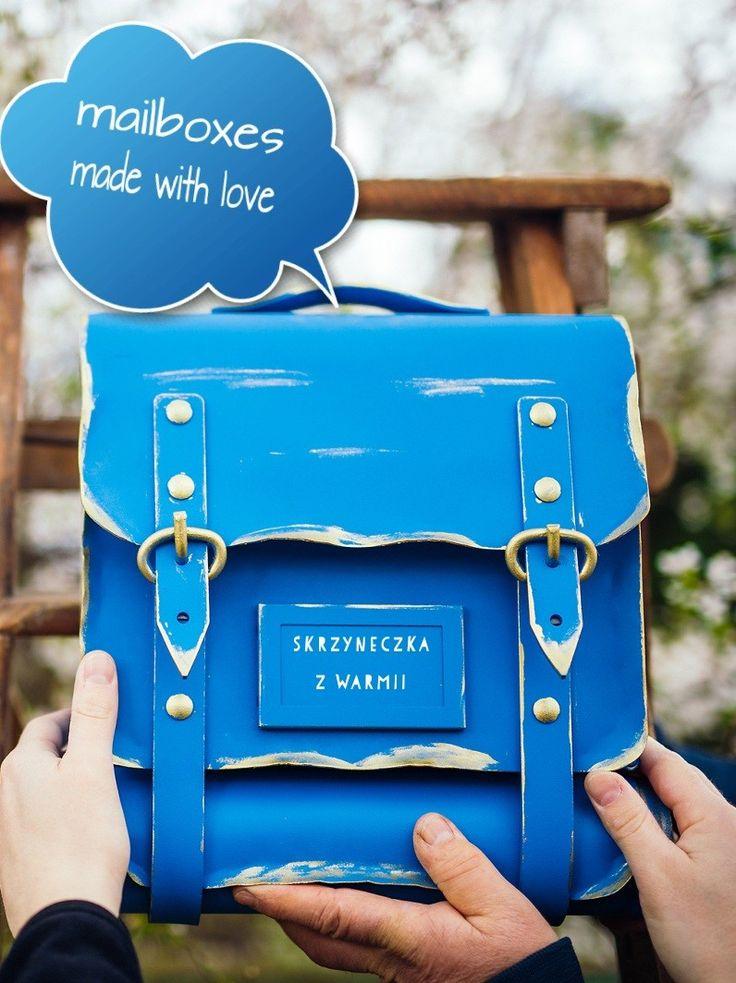 Handmade mailboxes :)