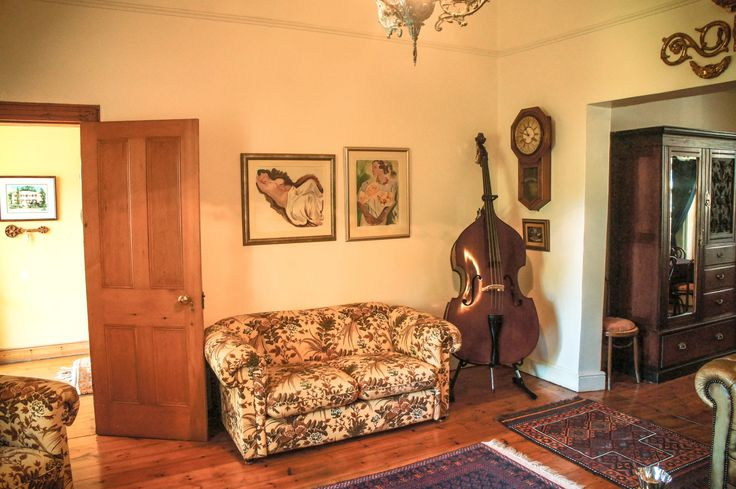 Grand interior of this yesteryear home in Paarl.