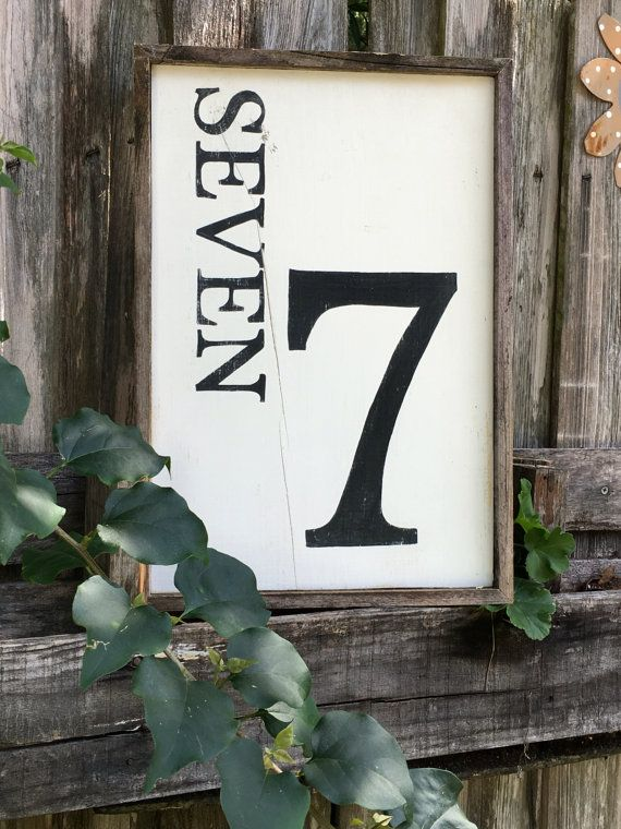 Hey, I found this really awesome Etsy listing at https://www.etsy.com/listing/386865570/number-7-decor-sign-18-x-10-no-seven