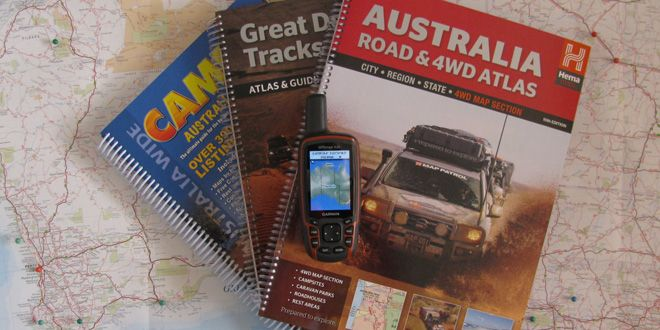 Got maps? Maps for Travelling Australia
