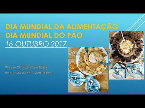 A 16 de outubro , comemorou-se o  Dia Mundial do Pão , bem como o Dia Mundial da Alimentação !  A data fora instituída, ora pela Uni...