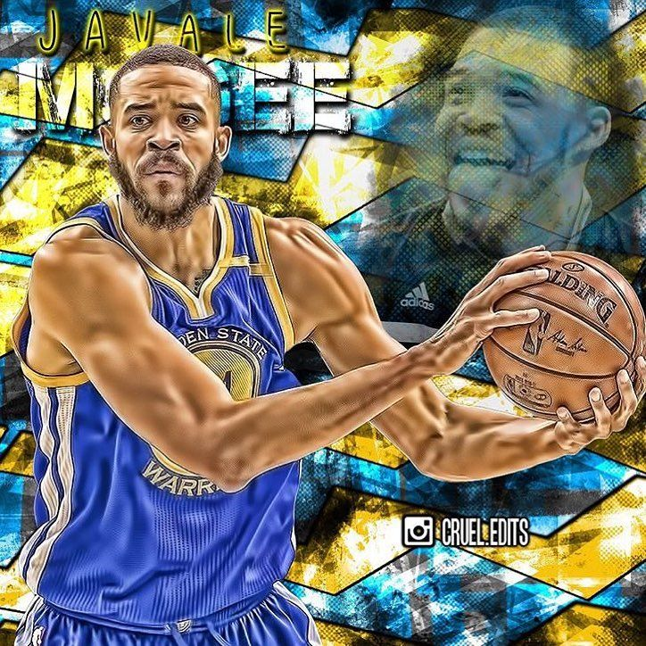 REPORT: According to ESPN, the Warriors have re-signed C Javale McGee. 📷: @cruel.edits