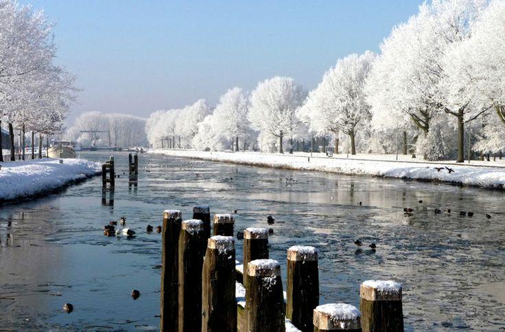 Piushaven Tilburg Winter