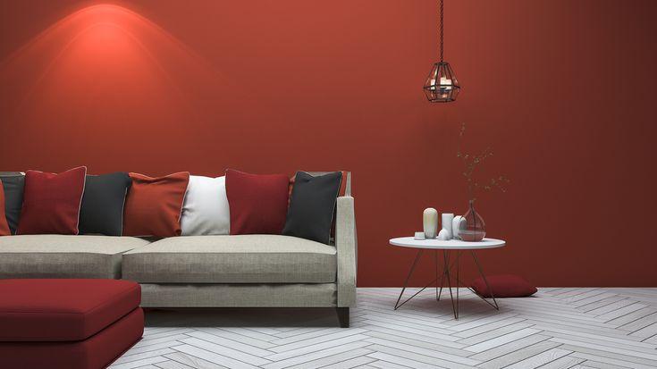 Camaëlle - Tandoori – Brique – Orange foncé -  Peinture Mur - Peinture Meuble - Peinture Mate - Peinture Velours