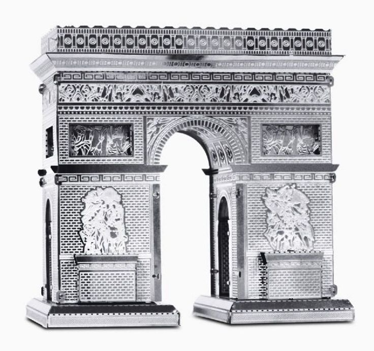 Arc de Triomphe: Metal Earth 3D Miniature Laser Cut Model Kit 2 sheets in Toys & Games, Model Kits, Other Model Kits | eBay