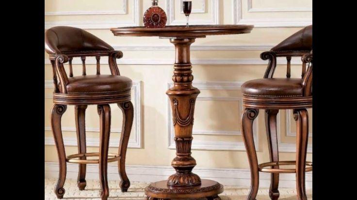 Барные столы и стулья классика. Стул барный 0763