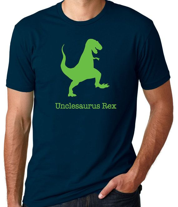 Uncle Tshirt Unclesaurus Rex New Uncle Gift Gift by threadedtees