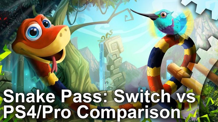 [Video] Snake Pass: Switch vs PS4 Comparison  Frame-Rate Test #Playstation4 #PS4 #Sony #videogames #playstation #gamer #games #gaming