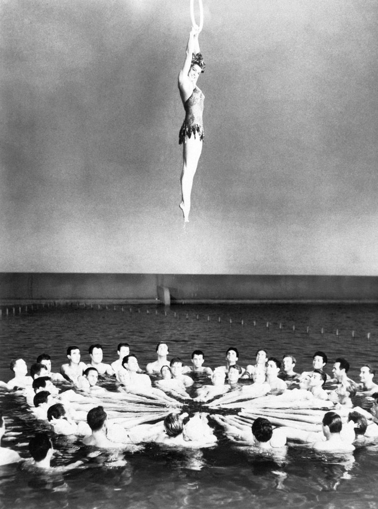 Esther Williams appears in Million Dollar Mermaid in 1960.