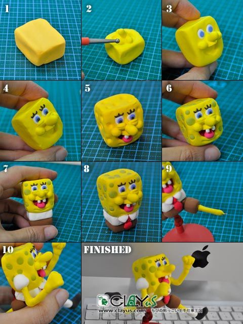 SpongBob DIY_step