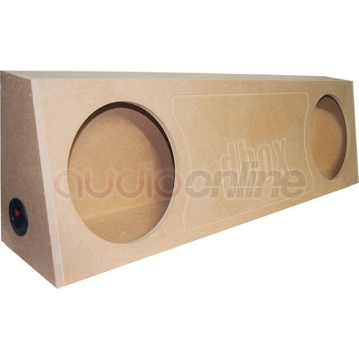 """Los cajones DBOX Pick-Up Series están diseñados para aplicaciones en Pick-Up's creando un sonido exacto.El cajón 2X12S es para dos subwoofer de 12"""" pulgadas que requiere un volumen de 2.75 pies cúbicos y proporciona una frecuencia de 45-95 Hz.Las medidas son: 124.5 cm de largo, 22.5 cm de ancho y 35.5 cm de alto. Cajón para 2 subwoofers de 12"""" pulgadasLargo 124.5 cmAncho 22.5 cmAlto 35.5 cmVolumen 2.75 cu&#x2..."""
