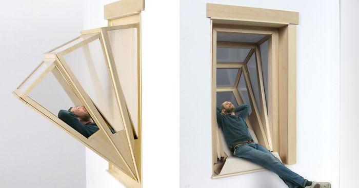 Balkona Donusebilen Pencere