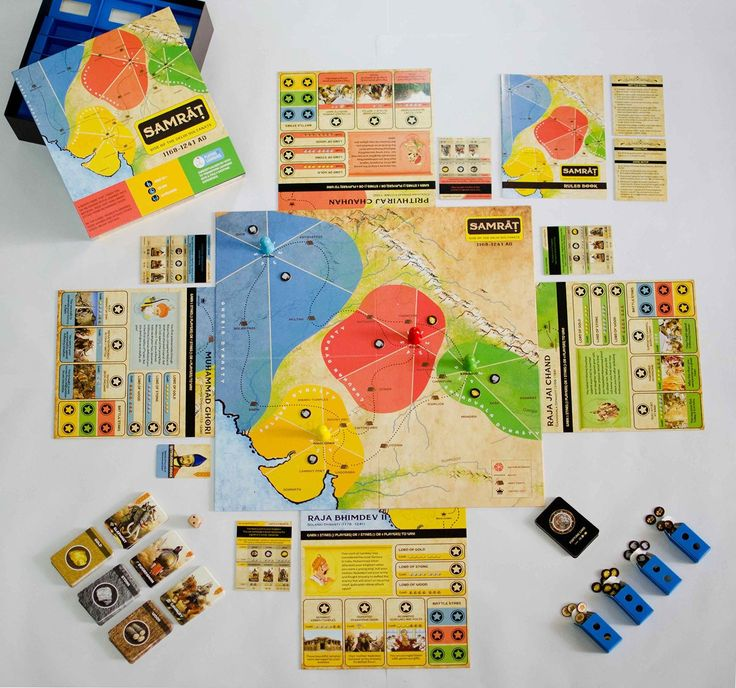 Amazon.com: SAMRAT Strategy Board Game For Family Kids Adults Based On Real History. Best For 8 10 12 14 Year Boys & Girls.: Toys & Games