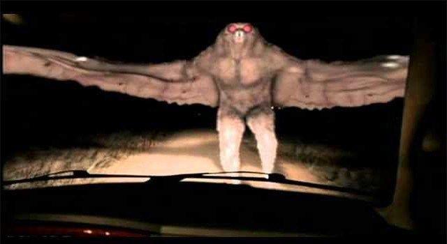 Mothman O Homem Mariposa, Homem Borboleta ou Homem Traça,Filmado por Camera na Argentina?   MATÉRIA PÚBLICA