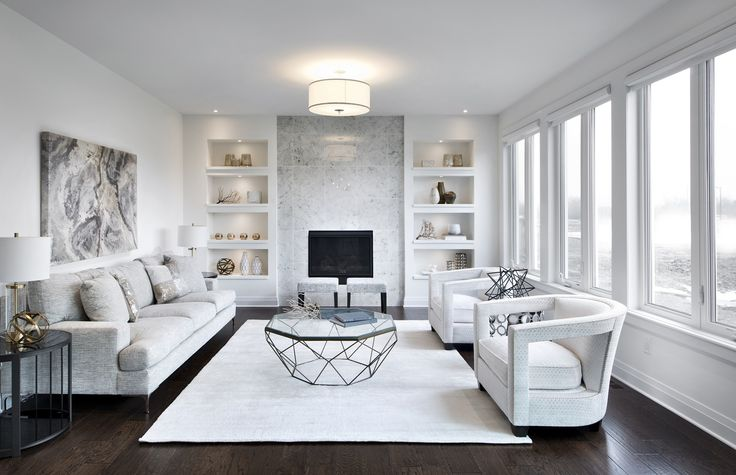 This Is The Great Room In Our Cambridge Model Home In