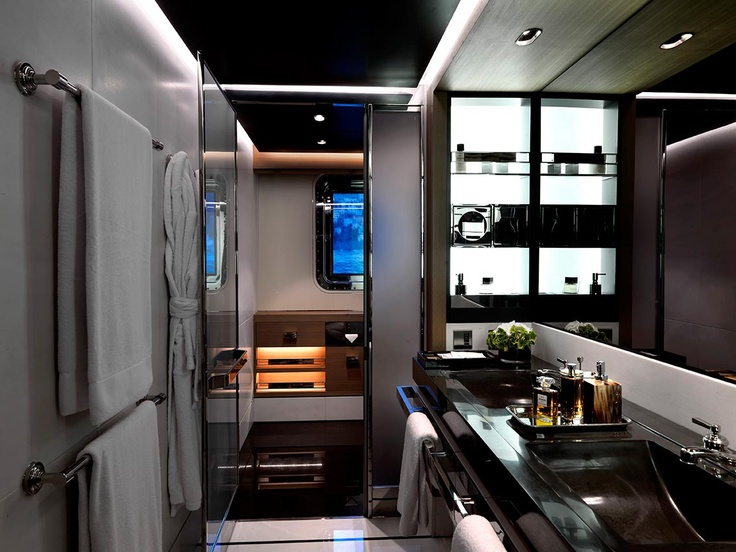 Small Yacht Bathroom Design 127 best yacht/ cruise bathrooms images on pinterest