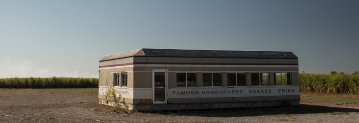 Abandoned Diner Movie Set - Napoleonville, LA