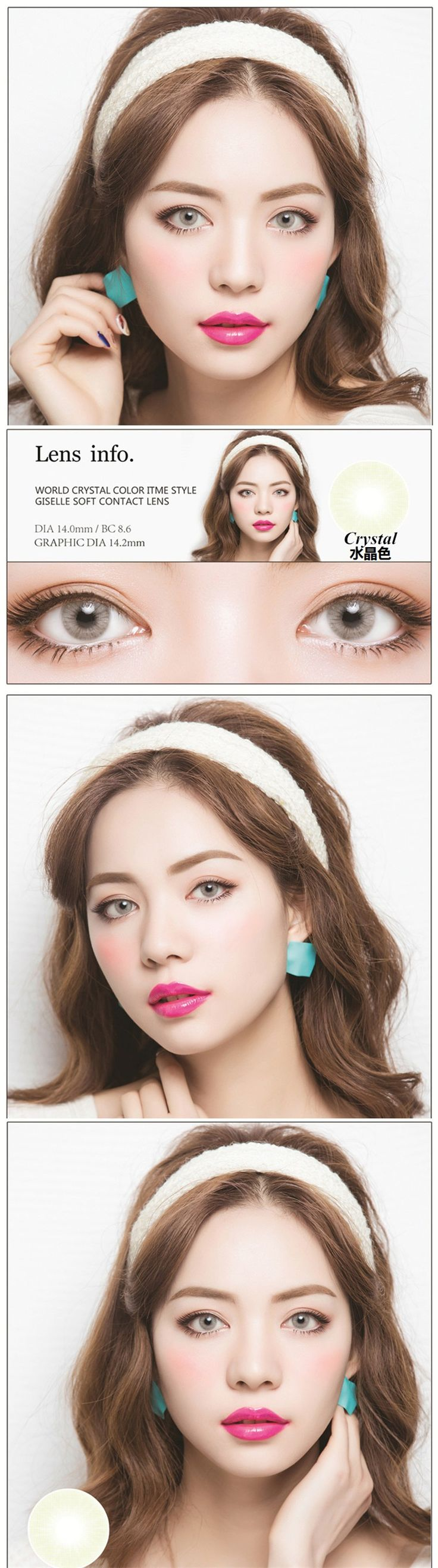 7 best romantic amethyst eyes cosmetic color contact lenses snow no1 crystalcrystalbest sellerspinky candy lens nvjuhfo Choice Image