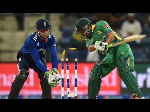 Fall of Pakistani wickets 2nd ODI pak vs Eng 2016