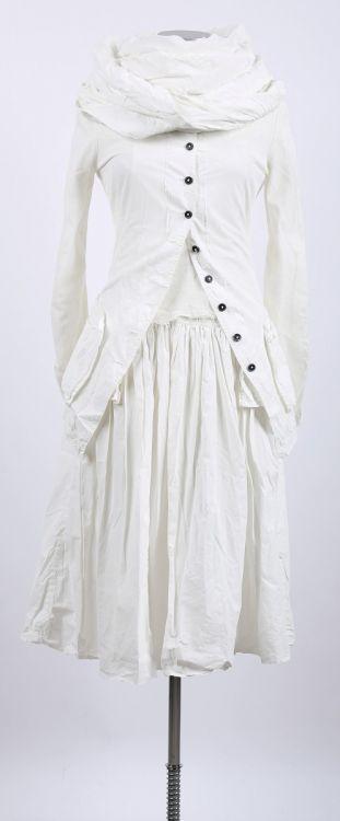 rundholz dip - Kleid mit Tüll Paint sahne - Sommer 2015