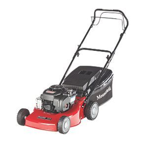 Order online at Screwfix.com. Lightweight yet robust self-propelled petrol lawn mower with mulching facility. Features large grass collection capacity and simple to use lever for height adjustment. Suitable for lawns up to 1600m². Powered by an easy-start, 4-stroke Briggs & Stratton engine. FREE next day delivery available, free collection in 5 minutes.