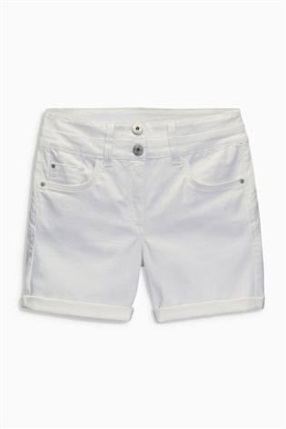 Everyone needs a pair of classic white shorts in the summer time, here are your perfect ones!