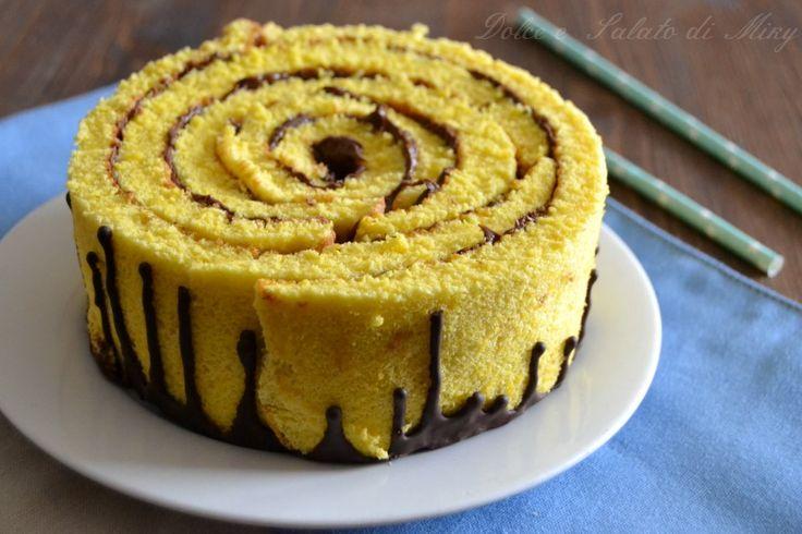 Ricetta torta girella alla nutella| Dolce e Salato di Miky