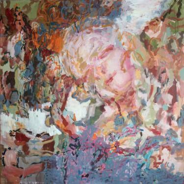 "Saatchi Art Artist Maia S Oprea; Painting, ""MEIRA I"" #art #painting #acrylic www.maia-fine-art.com"