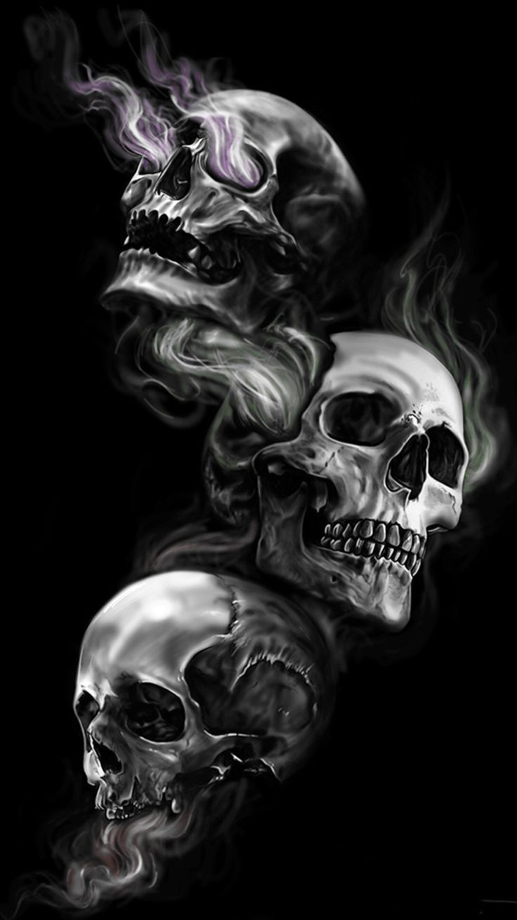 Awesome 8 Skull Wallpaper For Your Android or Iphone