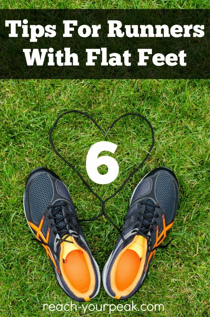 Tips For Runners With Flat Feet