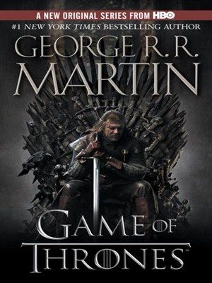 A Game of Thrones Song of Ice and Fire Series, Book 1 by George R.R. Martin. Download the book for free with your DPPL library card and MyMediaMall.