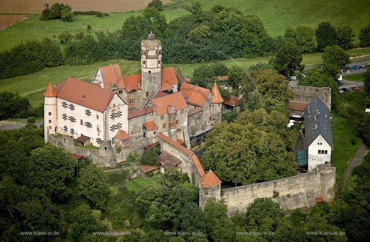 Burg Ronneburg, Ronneburg, Hessen, Deutschland, DEU. | Ronneburg castle, Ronneburg, Hesse, Germany, DEU.