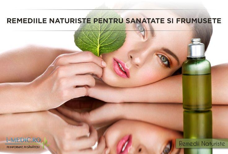 Remediile naturiste sunt la indemana tuturor. Folosite impreuna cu reteta prescrisa de medic pot ajuta la revenire mai rapida. http://www.i-medic.ro/blog/remediile-naturiste-pentru-sanatate-si-frumusete