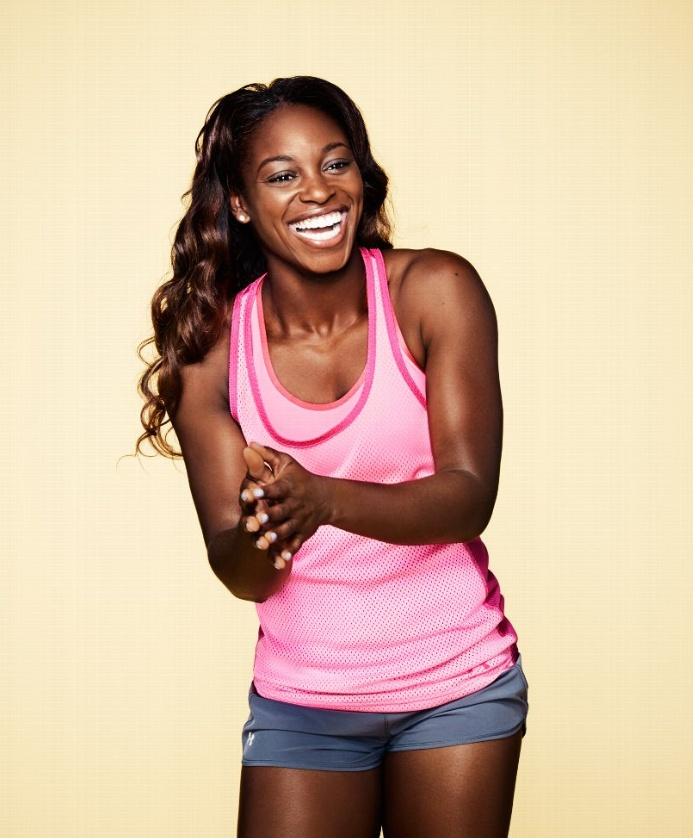 Such a beautiful smile! Sloane Stephens in ESPN the magazine #tennis #wta