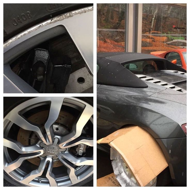 #Audi R8 #alloy wheel repair by Gary. Work on beautiful cars or make them so. Call Glenn and ask about a franchise. 01932 835475