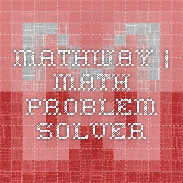 math problem solver free