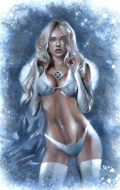 Emma Frost by Nick Runge