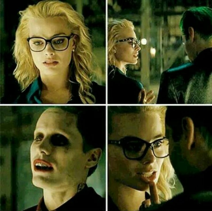 Harley Quinn and Joker from Suicide Squad.