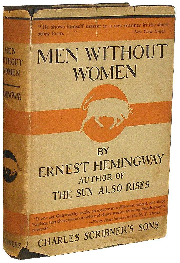 the writing style in ernest hemingways short story men without women Hemingway evolved his style in the herd school of journalistic reporting in the editorial office of the kansas city newspaper where he served his apprenticeship, there was a kind of pressman's catechism, the first dictum of which was: «use short sentences.
