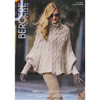 Poncho in Bergere de France Magic+ - 28657. Discover more Patterns by Bergere de France at LoveKnitting. We stock patterns, yarn, needles and books from all of your favorite brands.